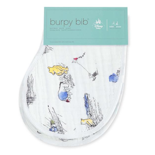 Aden + Anais: Disney Baby Burpy Bib - Winnie The Pooh (2 Pack)