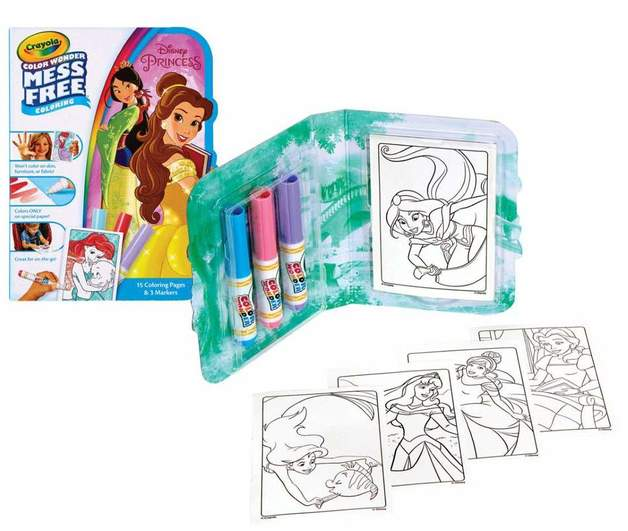Crayola Color Wonder Mess Free Mini Travel Pack