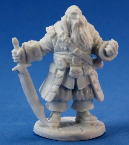 Dark Heaven Bones - Barnabus Frost Pirate Captain