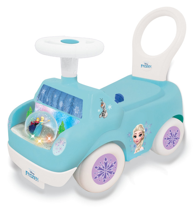 Kiddieland: Snow Globe Activity Ride-On - Frozen