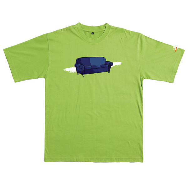 Couch - Tshirt (Lime) for