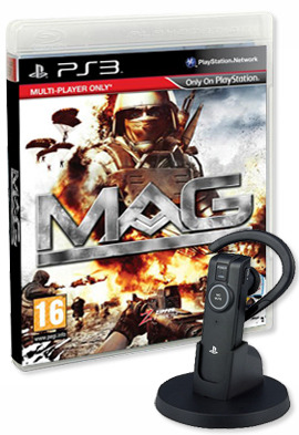 MAG Bundle (includes Sony Headset) for PS3