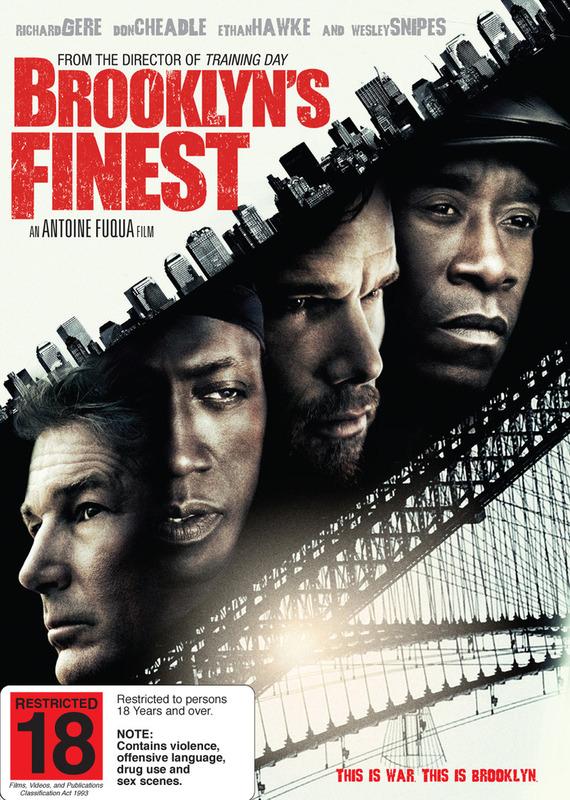 Brooklyn's Finest on DVD