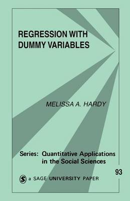 Regression with Dummy Variables by Melissa A Hardy image