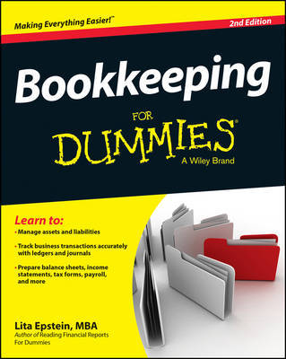 Bookkeeping for Dummies, 2nd Edition by Lita Epstein image