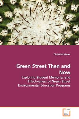 Green Street Then and Now by Christine Macer image
