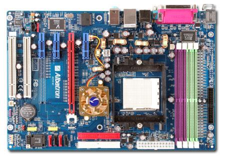 Albatron Motherboard K8NF4U NFORCE4 ULTRA A64 SATA RAID+GB LAN - S939 image