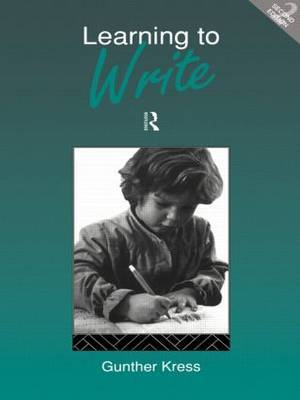 Learning to Write by Gunther Kress