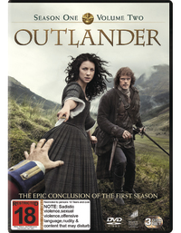 Outlander: Season One - Volume Two on DVD
