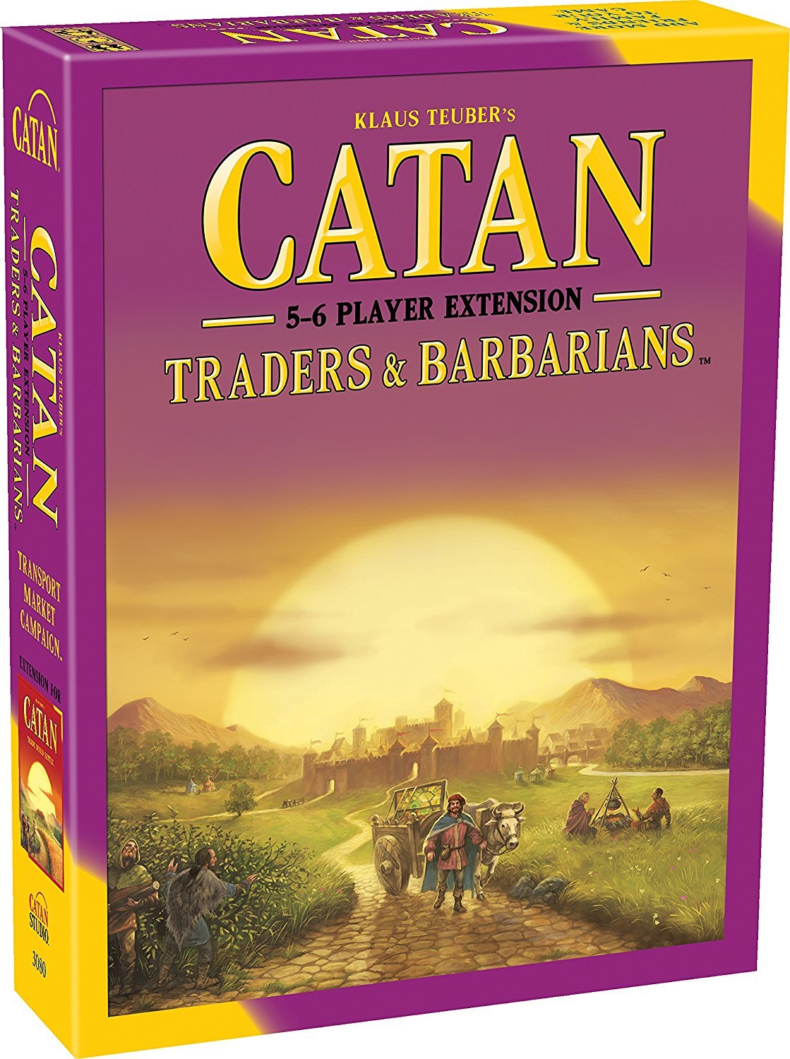 Catan: Traders and Barbarians 5/6 Player Extension pack image