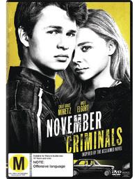 November Criminals on DVD