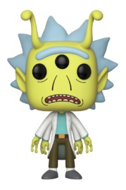 Rick & Morty - Alien Rick Pop! Vinyl Figure