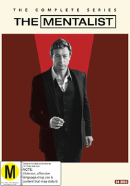 The Mentalist: Seasons 1-7 on DVD