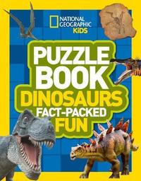 Puzzle Book Dinosaurs by National Geographic Kids