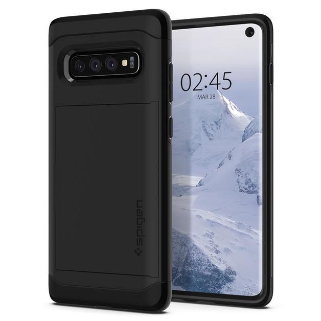 Spigen Galaxy S10 Slim Armor CS Case - Black