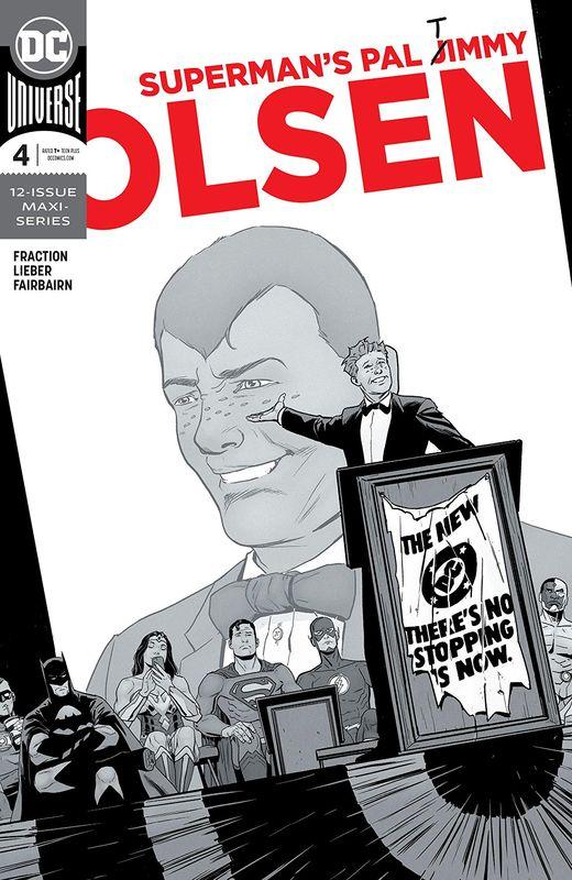 Superman's Pal: Jimmy Olsen - #4 (Cover A) by Matt Fraction