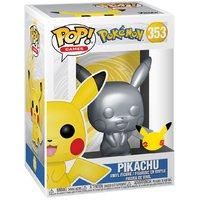 Pokemon: Pikachu (Silver Metallic) - Pop! Vinyl Figure