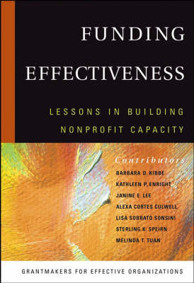 Funding Effectiveness: Lessons in Building Non-profit Capacity by Grantmakers for Effective Organizations image