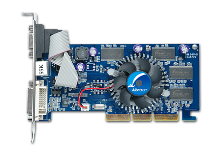 ALBATRON FX5500 256MB DDR TV OUT image