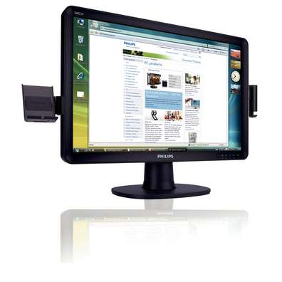 "Philips 20"" 200CW8FB WSXGA 2ms Gloss Black LCD image"