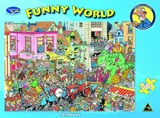 Funny World 500 Piece Jigsaw Puzzle - Carnival