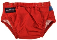 Konfidence One Size Swim Nappy (Red)