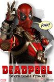 """Marvel Deadpool 12"""" Figure"""