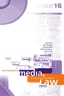 The Yearbook of Media and Entertainment Law: Volume 3, 1997/98 image