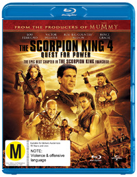 The Scorpion King 4: Quest for Power on Blu-ray