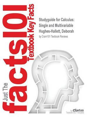 Studyguide for Calculus by Cram101 Textbook Reviews