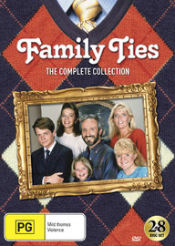 Family Ties - The Complete Collection (28 Disc Set) on DVD image