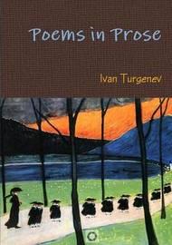 Poems in Prose by Ivan Turgenev