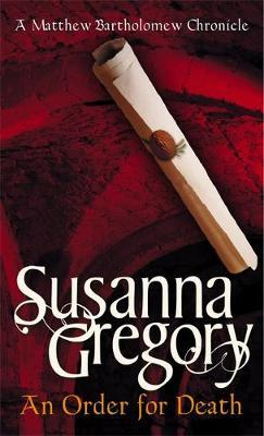 An Order For Death by Susanna Gregory image
