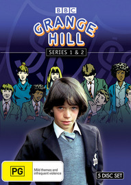 Grange Hill - Series 1 & 2 (5 Disc Box Set) on DVD