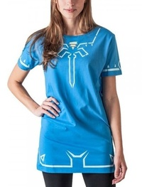 Legend of Zelda: Breath of the Wild - Costume T-Shirt Dress (Large)