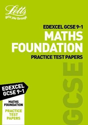 Edexcel GCSE Maths Foundation Practice Test Papers by Letts GCSE image