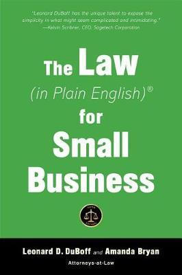 The Law (in Plain English) for Small Business (Fifth Edition) by Leonard DuBoff image