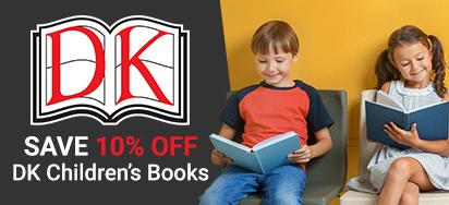 10% Off DK Books