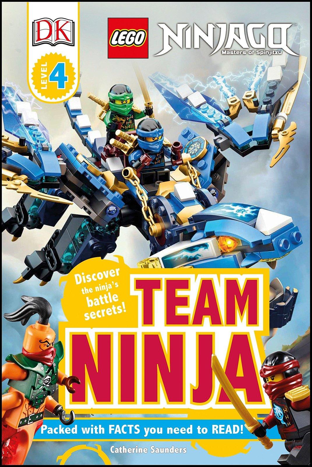 DK Readers L4: Lego Ninjago: Team Ninja by Catherine Saunders image