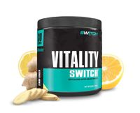 Vitality Switch - Revitalising Wholefood Green Juice - Lemon Ginger (30 Serves)
