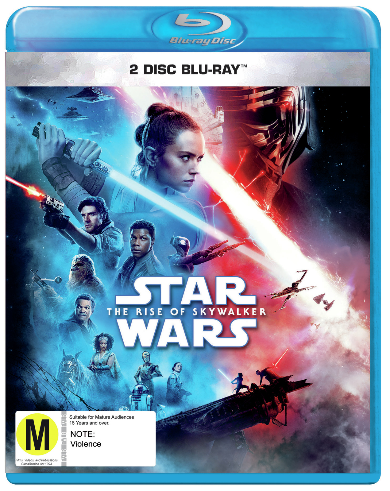 Star Wars: The Rise of Skywalker on Blu-ray image