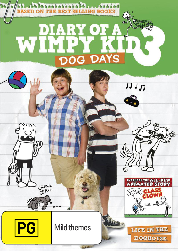Diary of a Wimpy Kid 3: Dog Days on DVD