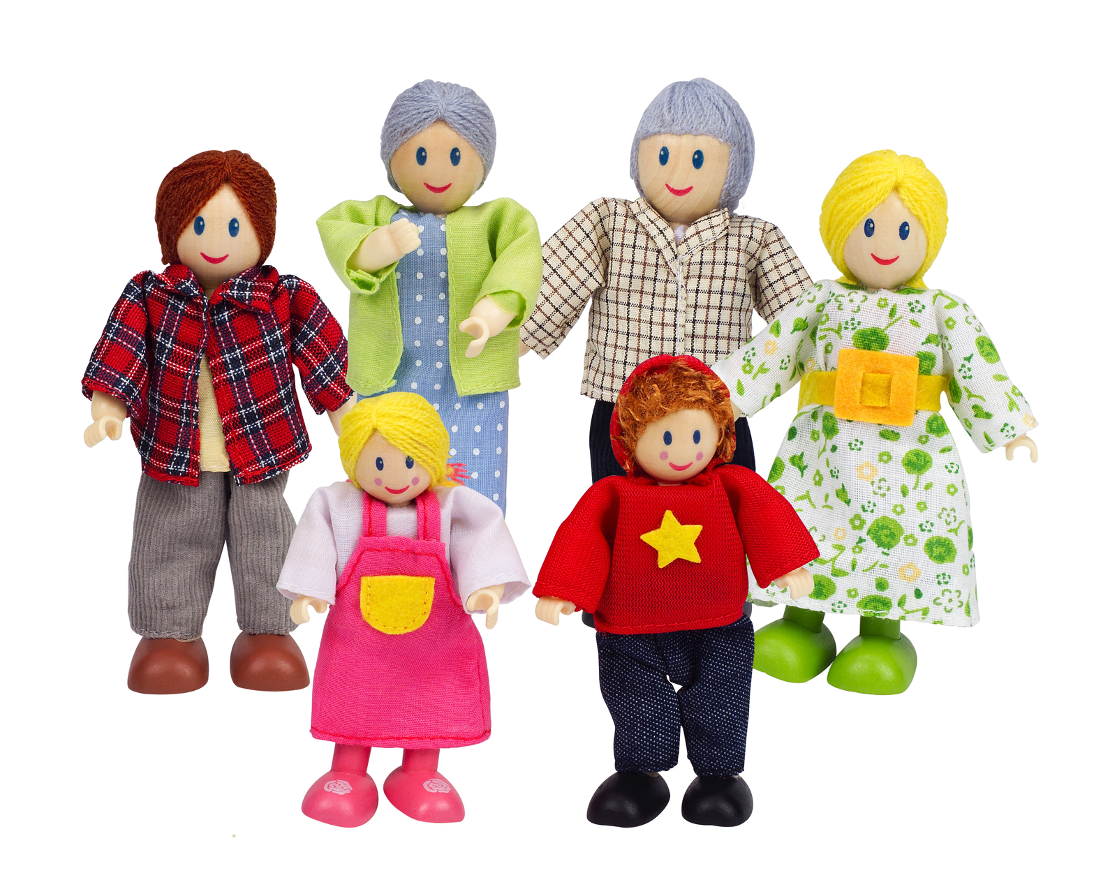 Hape: Happy Caucasian Family image