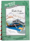 3D World Style -Italian Rialto Bridge