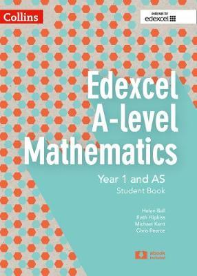 Edexcel A-level Mathematics Student Book Year 1 and AS by Chris Pearce image