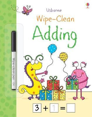 Wipe-Clean Adding by Jessica Greenwell