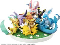 Pokemon G.E.M.EX: Eevee Friends - PVC Figure