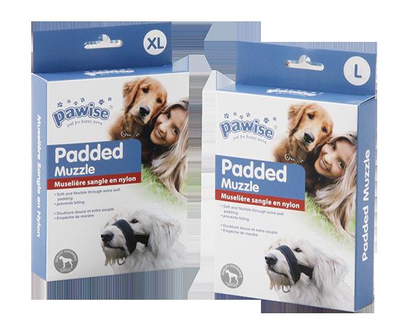 Pawise: Dog Padded Muzzle - Large