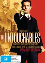 Untouchables Collectors Edition on DVD