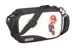 Mario Carry Case for Nintendo DS & GBA (White) for DS image